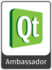 Qt Ambassador Logo